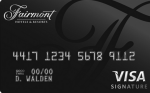 Fairmont Hotel Credit Card