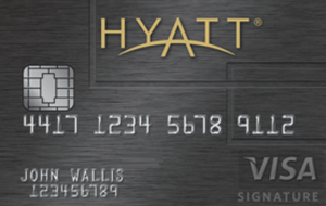 Hyatt Hotel credit card