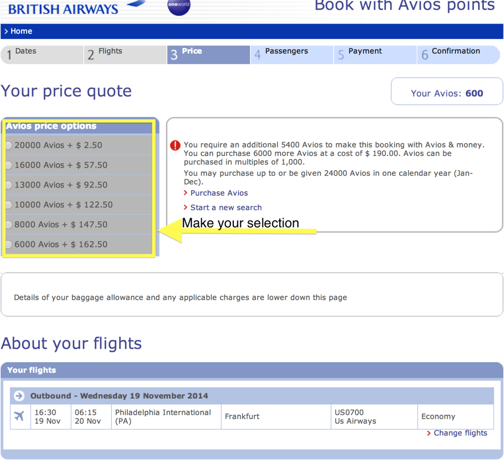This was the price before BA started charging surcharges