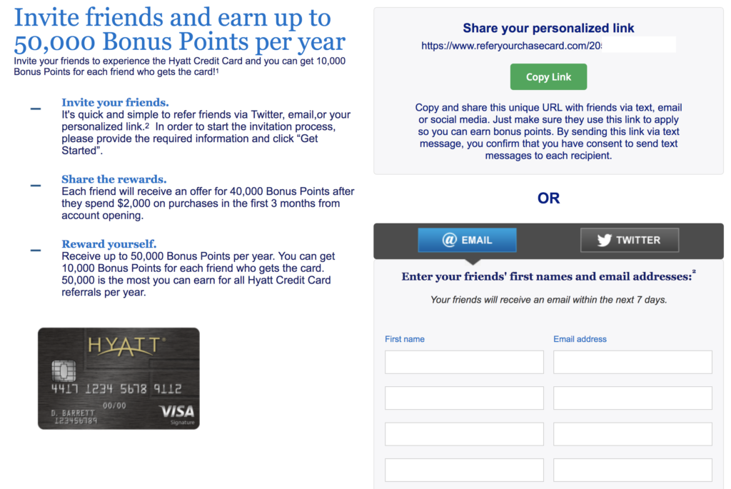 hyatt refer-a-friend