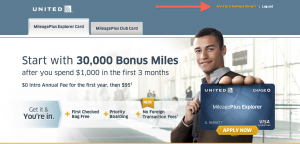 United MileagePlus Business card