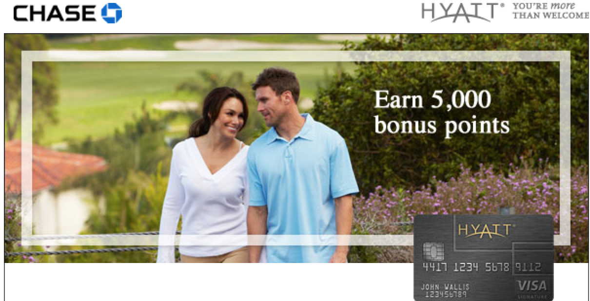 Earn 5,000 Hyatt Points