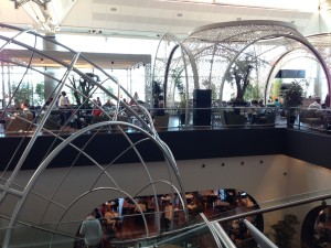 many airport lounges