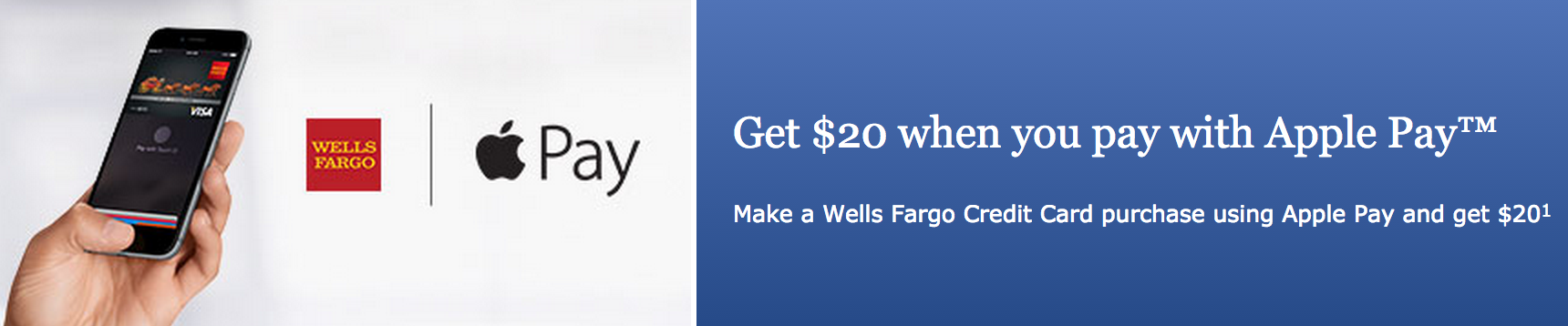Wells Fargo Apple Pay
