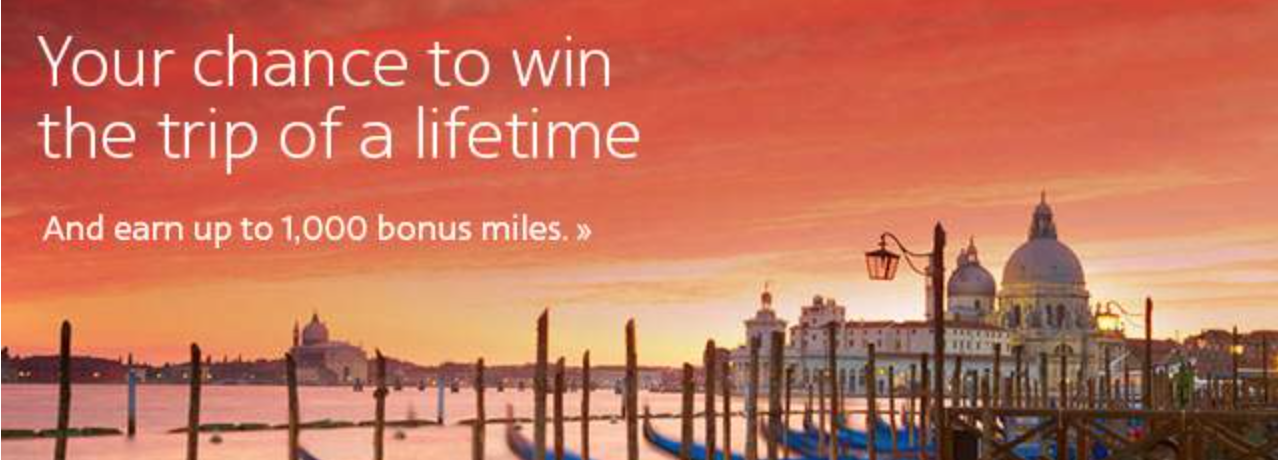 1,000 American Airline miles