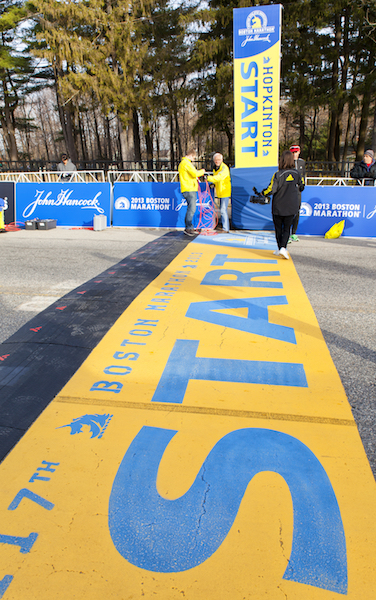 Boston Marathon qualifying