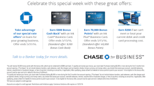 Chase Ink Plus at 70,000 point