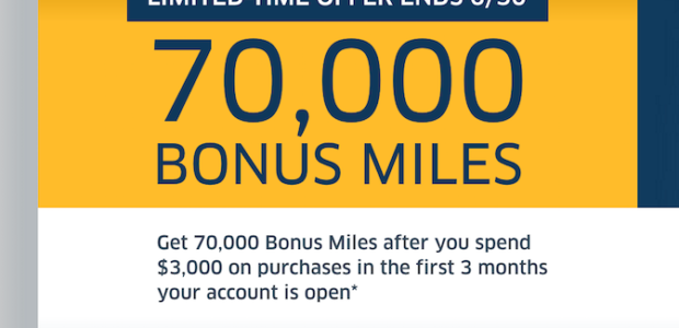75,000 United mile offer