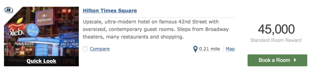 free hotel reservation in new york