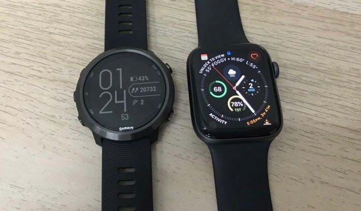 Apple Watch Series 4 vs garmin Forerunner 645