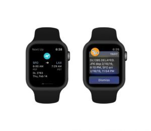 TripIt for apple watch