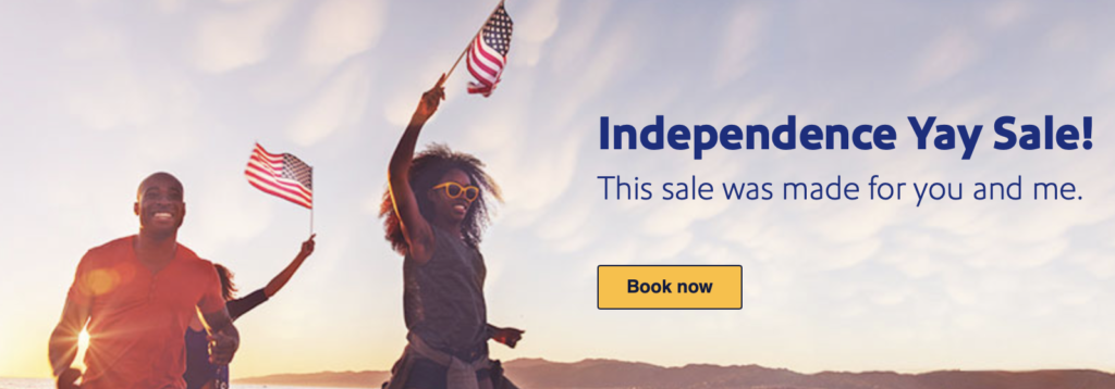 southwest july 4th sale